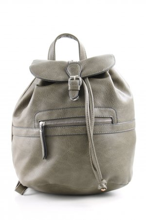 Clockhouse Laptop Backpack light grey casual look