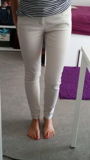 Clockhouse skinny Hose in beige