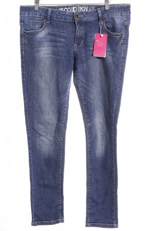 Clockhouse Slim Jeans blau Casual-Look