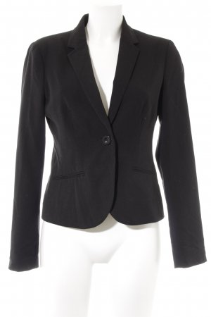 Clockhouse Smoking-Blazer schwarz-dunkelrot Business-Look