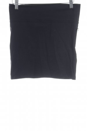Clockhouse Falda stretch negro look casual