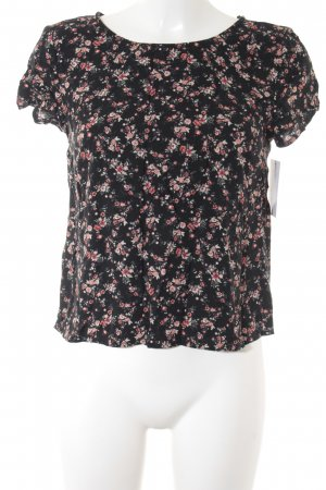 Clockhouse T-Shirt Blumenmuster Casual-Look