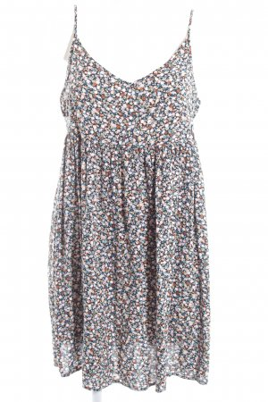 Clockhouse Pinafore dress flower pattern casual look