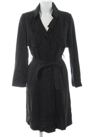 Clockhouse Trenchcoat schwarz schlichter Stil