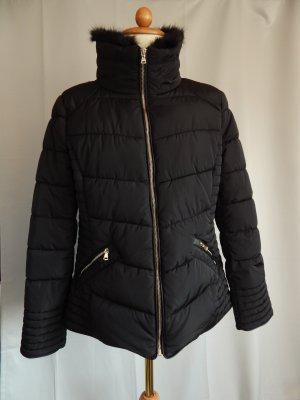 Clockhouse Quilted Jacket black