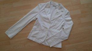 Clockhouse weißer Blazer aus Baumwolle
