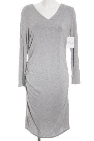 Clocolor Robe en jersey gris style décontracté