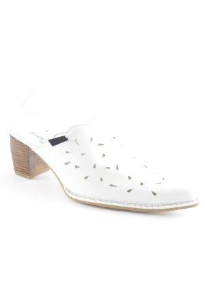 Clog Sandals white Boho look