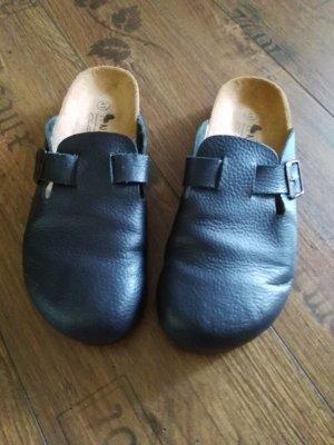 Clog Sandals dark blue