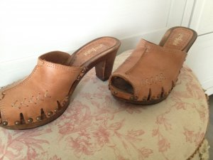 Clogs Cognac Limelight