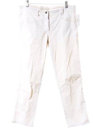 Closed Pantalon 7/8 crème style décontracté