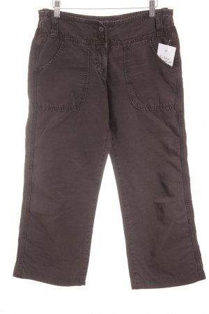 Closed 7/8-Hose dunkelbraun Casual-Look