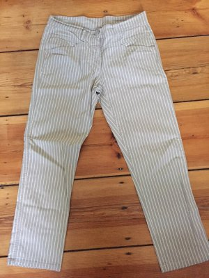 Closed 7/8 Length Trousers sand brown-light brown