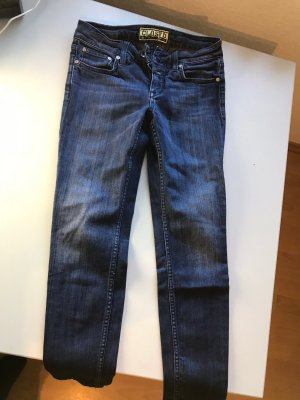 Closed Jeans a 7/8 blu scuro Cotone