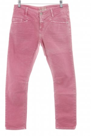 "Closed Jeans 7/8 ""Pedal Chopped"" rouge brique"