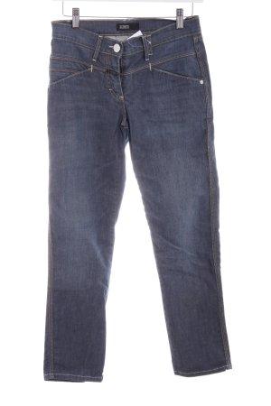 Closed Jeans a 7/8 blu acciaio stile casual