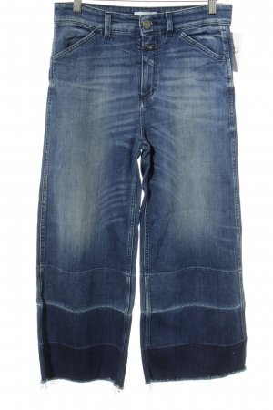 Closed Jeans larghi blu fiordaliso stile casual