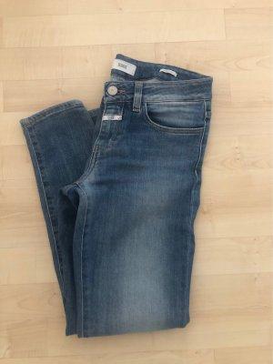 Closed Jeans a 7/8 azzurro-blu acciaio