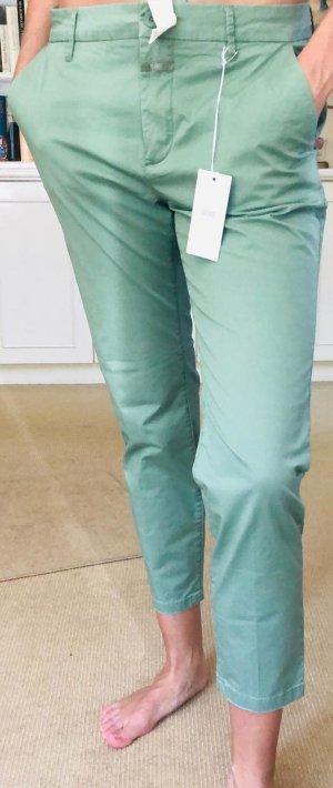 Closed Pantalon chinos vert gazon coton