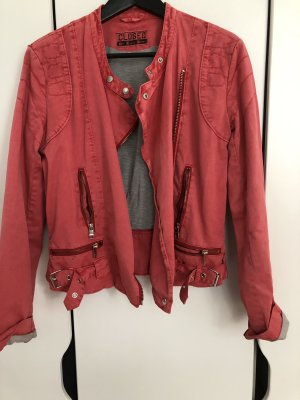 Closed Bikerjacke Jacke in Stoff , used Look Rot