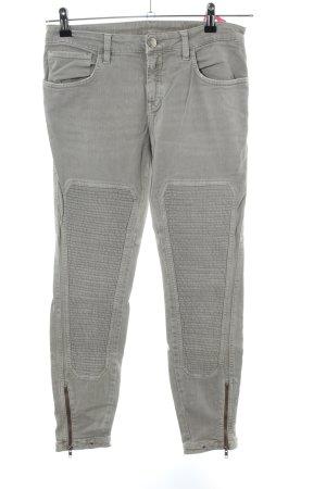 Closed Biker jeans lichtgrijs casual uitstraling
