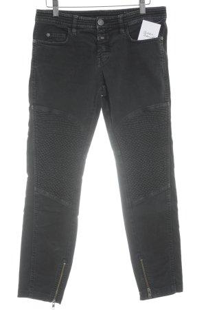 Closed Jeans de moto noir Look de motard
