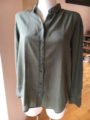 Closed Bluse Hemd khaki grün oliv