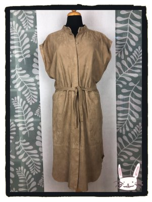 Closed Leather Dress camel suede