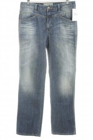 Closed Boot Cut Jeans dunkelblau-graublau Casual-Look