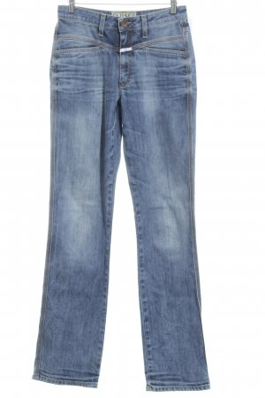 Closed Boot Cut Jeans graublau Bleached-Optik