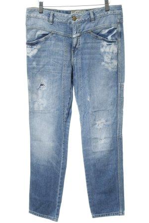 Closed Boyfriend Trousers azure cotton
