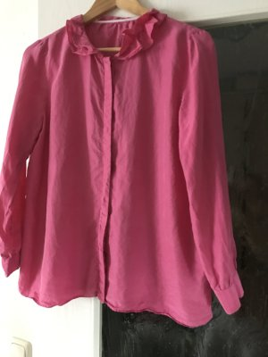 Closed Blouse neon pink