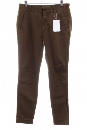 Closed Bundfaltenhose braun Casual-Look