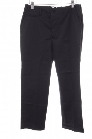 Closed Pleated Trousers black business style
