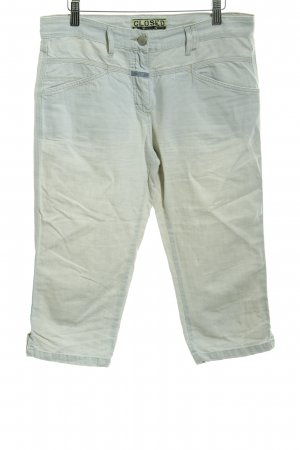 Closed Capris azure-silver-colored casual look