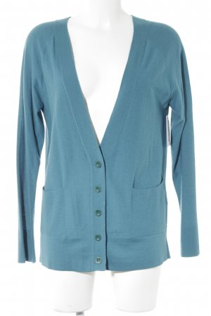 Closed Cardigan petrol Casual-Look