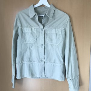 Closed Pea Jacket oatmeal-sage green