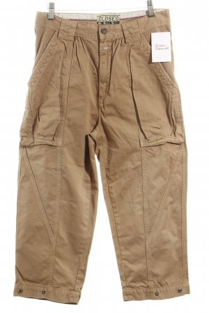 Closed Cargo Pants beige athletic style