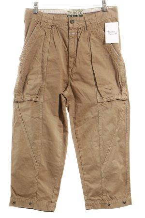 Closed Pantalón de camuflaje beige estilo deportivo