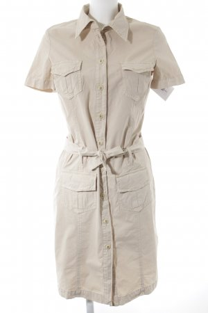 Closed Vestido de camuflaje beige look casual
