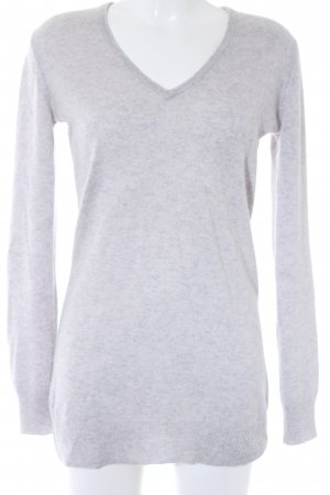 Closed Cashmerepullover hellgrau meliert Casual-Look