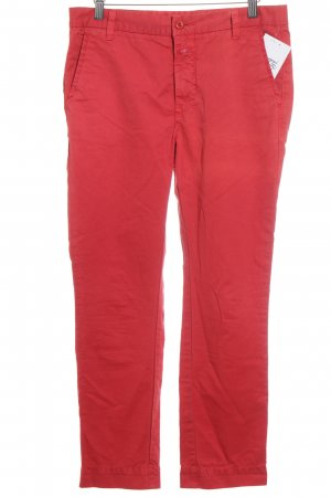 Closed chinos red