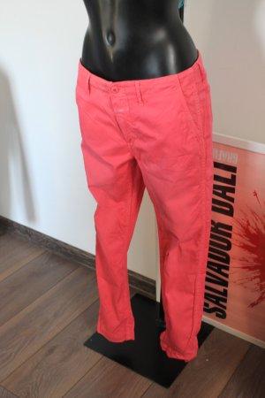 Closed Chino Joey schmall geschnitten Röhre Damen Hose pink NEU 38