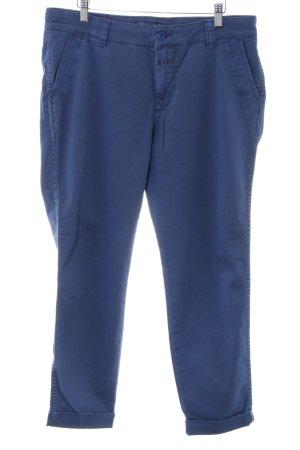 Closed Chinohose blau Jeans-Optik