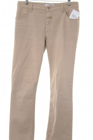 Closed Chinohose beige Casual-Look