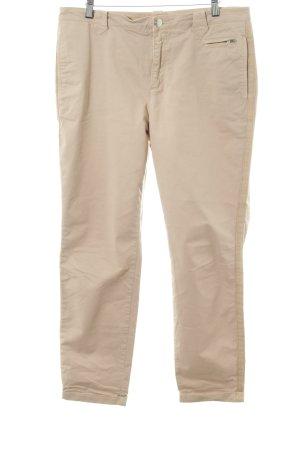 Closed Chinohose beige-sandbraun Casual-Look