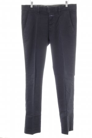 Closed Chinohose dunkelblau Casual-Look
