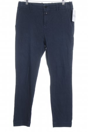 Closed Chino donkerblauw casual uitstraling