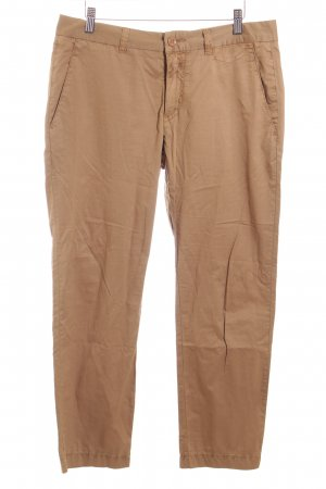 Closed Chinohose ocker Casual-Look