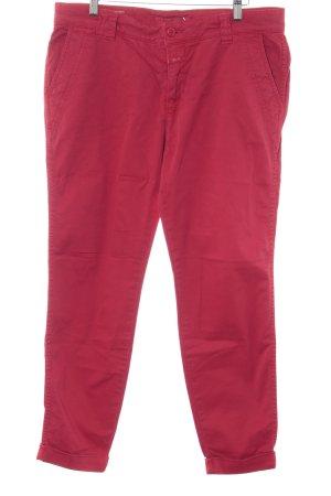 Closed Pantalone chino rosso stile casual